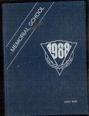 Page 1, 1988 Edition, Memorial School - Yearbook (Leicester, MA) online yearbook collection