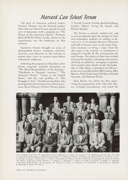 Page 180, 1951 Edition, Harvard Law School - Yearbook (Cambridge, MA) online yearbook collection