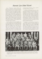 Page 182, 1951 Edition, Harvard Law School - Yearbook (Cambridge, MA) online yearbook collection