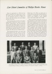 Page 185, 1951 Edition, Harvard Law School - Yearbook (Cambridge, MA) online yearbook collection