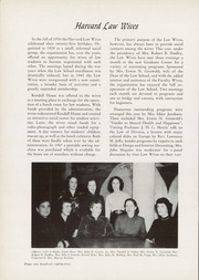 Page 188, 1951 Edition, Harvard Law School - Yearbook (Cambridge, MA) online yearbook collection