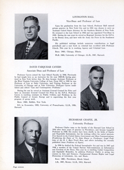 Page 17, 1952 Edition, Harvard Law School - Yearbook (Cambridge, MA) online yearbook collection