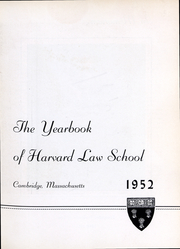 Page 4, 1952 Edition, Harvard Law School - Yearbook (Cambridge, MA) online yearbook collection