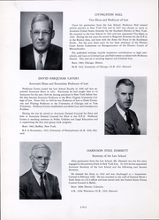 Page 17, 1954 Edition, Harvard Law School - Yearbook (Cambridge, MA) online yearbook collection
