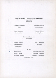 Page 3, 1954 Edition, Harvard Law School - Yearbook (Cambridge, MA) online yearbook collection