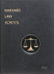 Page 1, 1962 Edition, Harvard Law School - Yearbook (Cambridge, MA) online yearbook collection