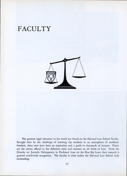 Page 15, 1962 Edition, Harvard Law School - Yearbook (Cambridge, MA) online yearbook collection