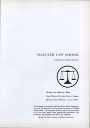 Page 2, 1962 Edition, Harvard Law School - Yearbook (Cambridge, MA) online yearbook collection