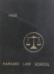 Page 1, 1963 Edition, Harvard Law School - Yearbook (Cambridge, MA) online yearbook collection