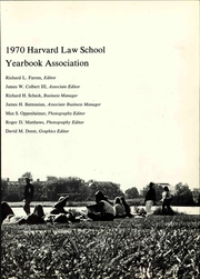 Page 9, 1969 Edition, Harvard Law School - Yearbook (Cambridge, MA) online yearbook collection