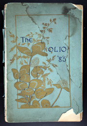 Amherst College - Olio Yearbook (Amherst, MA) online yearbook collection, 1885 Edition, Page 1