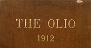 1912 Edition, Amherst College - Olio Yearbook (Amherst, MA)