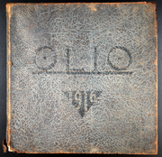 1916 Edition, Amherst College - Olio Yearbook (Amherst, MA)