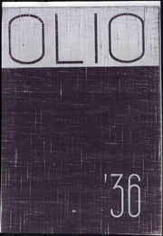 Page 1, 1936 Edition, Amherst College - Olio Yearbook (Amherst, MA) online yearbook collection