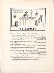 Page 13, 1905 Edition, Mount Holyoke College - Llamarada Yearbook (South Hadley, MA) online yearbook collection