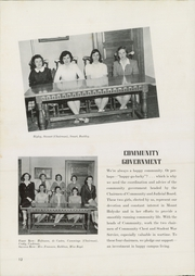 Page 16, 1945 Edition, Mount Holyoke College - Llamarada Yearbook (South Hadley, MA) online yearbook collection