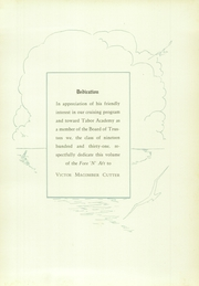 Page 13, 1931 Edition, Tabor Academy - Fore n Aft Yearbook (Marion, MA) online yearbook collection