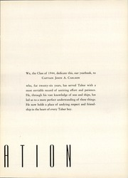 Page 9, 1944 Edition, Tabor Academy - Fore n Aft Yearbook (Marion, MA) online yearbook collection