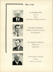 Page 14, 1954 Edition, Tabor Academy - Fore n Aft Yearbook (Marion, MA) online yearbook collection