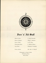 Page 7, 1954 Edition, Tabor Academy - Fore n Aft Yearbook (Marion, MA) online yearbook collection