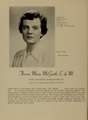Page 36, 1951 Edition, Newton College of the Sacred Heart - The Well Yearbook (Newton, MA) online yearbook collection