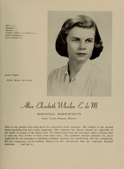 Page 51, 1951 Edition, Newton College of the Sacred Heart - The Well Yearbook (Newton, MA) online yearbook collection
