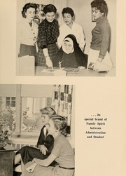 Page 13, 1957 Edition, Newton College of the Sacred Heart - The Well Yearbook (Newton, MA) online yearbook collection