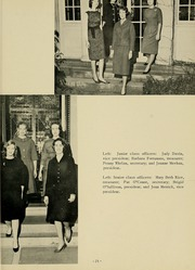 Page 27, 1961 Edition, Newton College of the Sacred Heart - The Well Yearbook (Newton, MA) online yearbook collection