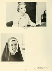 Page 10, 1964 Edition, Newton College of the Sacred Heart - The Well Yearbook (Newton, MA) online yearbook collection