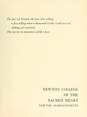 Page 5, 1964 Edition, Newton College of the Sacred Heart - The Well Yearbook (Newton, MA) online yearbook collection