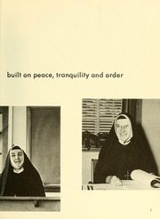 Page 11, 1966 Edition, Newton College of the Sacred Heart - The Well Yearbook (Newton, MA) online yearbook collection