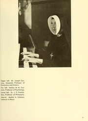 Page 15, 1966 Edition, Newton College of the Sacred Heart - The Well Yearbook (Newton, MA) online yearbook collection