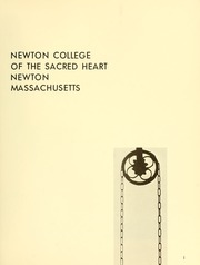 Page 5, 1966 Edition, Newton College of the Sacred Heart - The Well Yearbook (Newton, MA) online yearbook collection