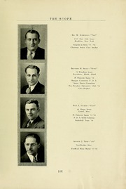 Page 13, 1934 Edition, New England College of Optometry - Scope Yearbook (Boston, MA) online yearbook collection