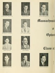 Page 10, 1947 Edition, New England College of Optometry - Scope Yearbook (Boston, MA) online yearbook collection