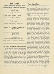 Page 9, 1947 Edition, New England College of Optometry - Scope Yearbook (Boston, MA) online yearbook collection