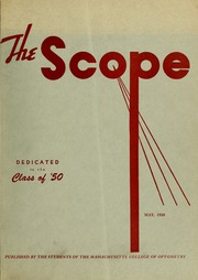 Page 1, 1950 Edition, New England College of Optometry - Scope Yearbook (Boston, MA) online yearbook collection