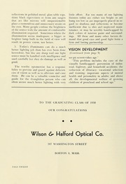 Page 14, 1950 Edition, New England College of Optometry - Scope Yearbook (Boston, MA) online yearbook collection
