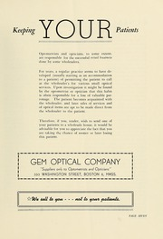 Page 9, 1950 Edition, New England College of Optometry - Scope Yearbook (Boston, MA) online yearbook collection