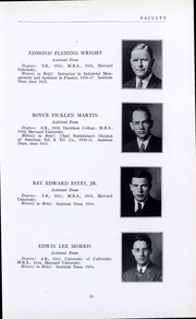 Page 15, 1935 Edition, Harvard Business School - Yearbook (Boston, MA) online yearbook collection
