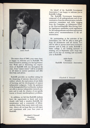 Page 7, 1966 Edition, Radcliffe College - Yearbook (Cambridge, MA) online yearbook collection