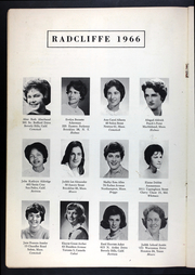 Page 8, 1966 Edition, Radcliffe College - Yearbook (Cambridge, MA) online yearbook collection
