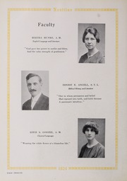 Page 16, 1924 Edition, Eastern Nazarene College - Nautilus Yearbook (Quincy, MA) online yearbook collection