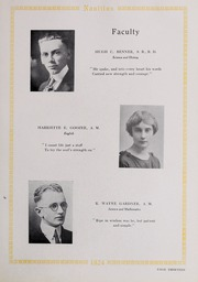 Page 17, 1924 Edition, Eastern Nazarene College - Nautilus Yearbook (Quincy, MA) online yearbook collection