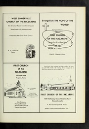 Page 277, 1966 Edition, Eastern Nazarene College - Nautilus Yearbook (Quincy, MA) online yearbook collection