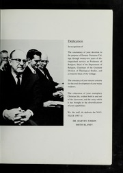 Page 7, 1967 Edition, Eastern Nazarene College - Nautilus Yearbook (Quincy, MA) online yearbook collection