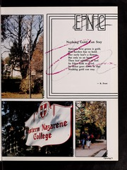 Page 9, 1987 Edition, Eastern Nazarene College - Nautilus Yearbook (Quincy, MA) online yearbook collection