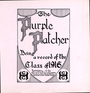 Page 4, 1916 Edition, College of the Holy Cross - Purple Patcher Yearbook (Worcester, MA) online yearbook collection