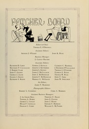 Page 15, 1920 Edition, College of the Holy Cross - Purple Patcher Yearbook (Worcester, MA) online yearbook collection