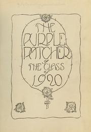 Page 7, 1920 Edition, College of the Holy Cross - Purple Patcher Yearbook (Worcester, MA) online yearbook collection